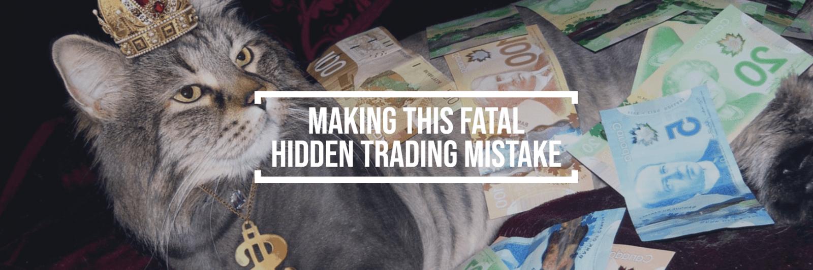 Unikaj tego fatalny błąd handlowy